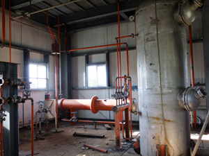 Seed Oil Extraction Plant View