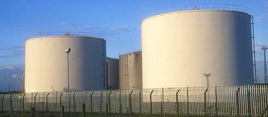Oil Storage Tank - Oilseed Solvent Extraction