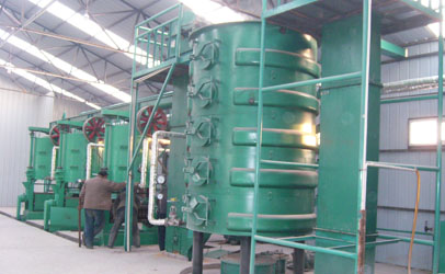 canola oil processing plant