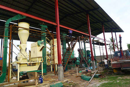 coconut oil extracting plant