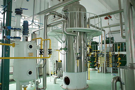 cottonseed oil processing