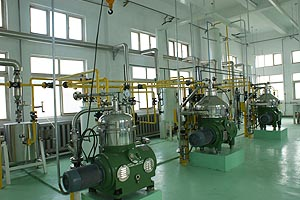 sunflower oil processing plant